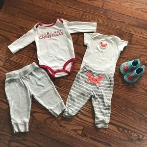 Carter's Bundle of Baby Clothes, 4 Pieces, Size 9M